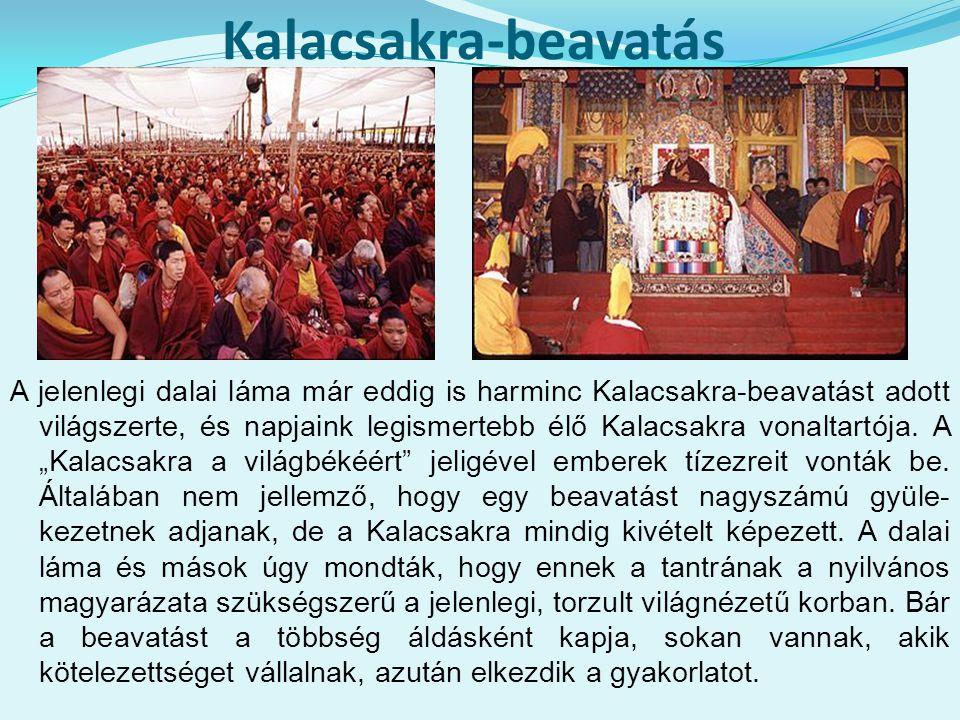 Kalacsakra-beavatás
