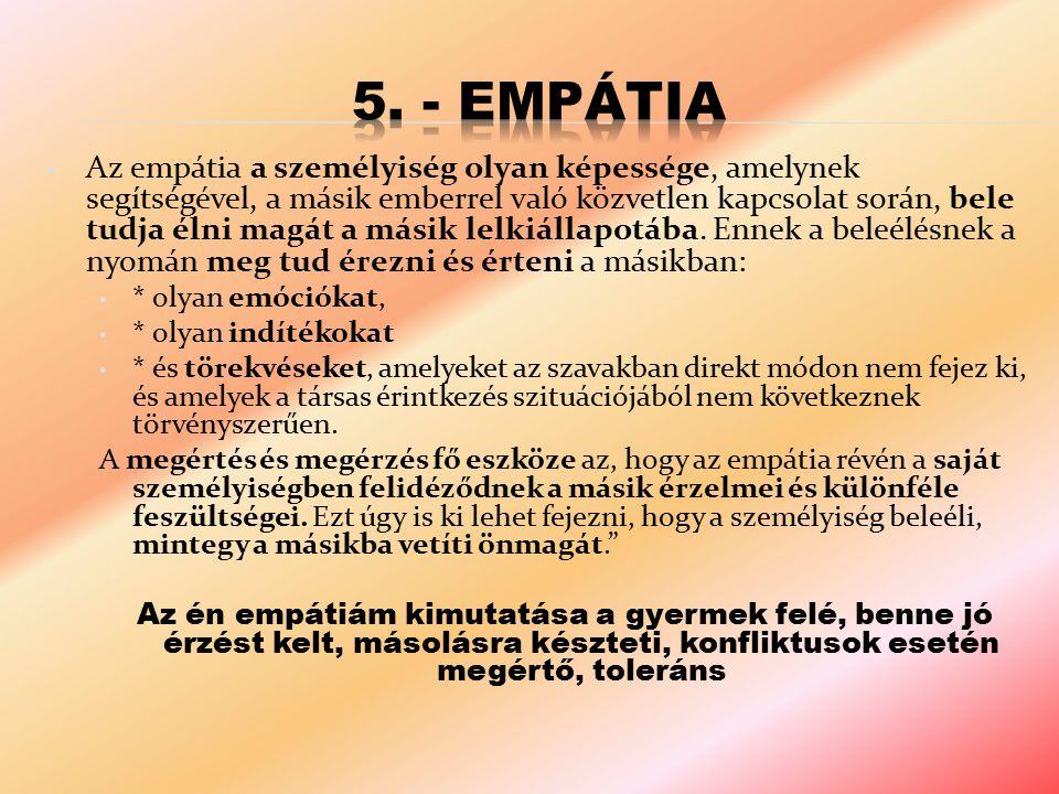 5. - Empátia