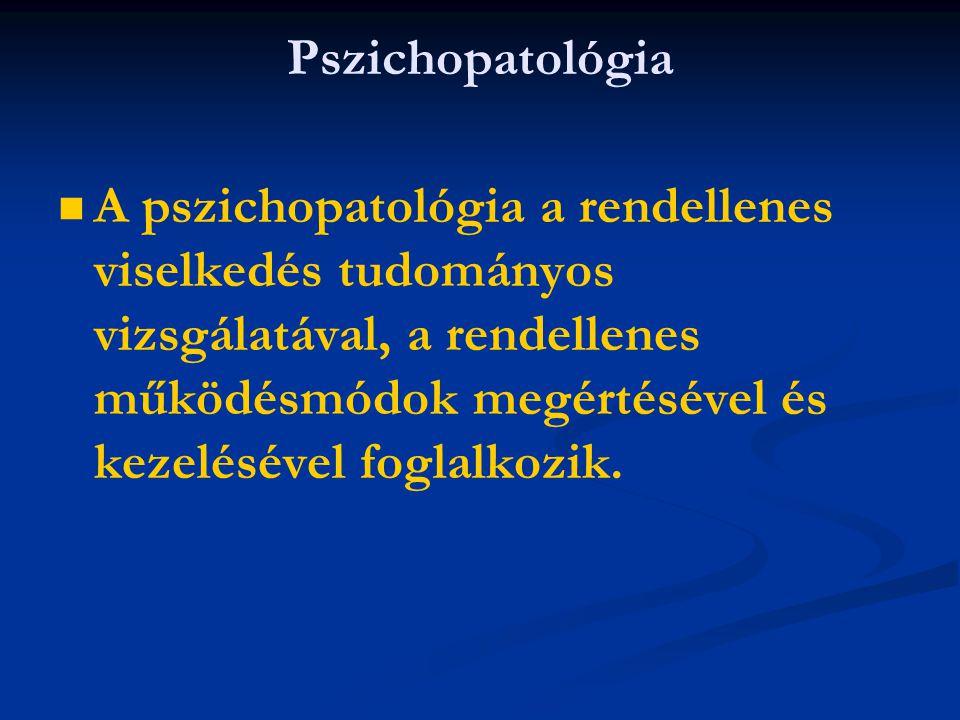 Pszichopatológia