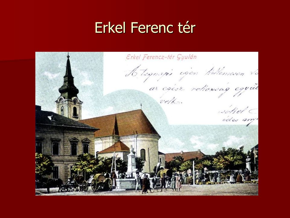 Erkel Ferenc tér