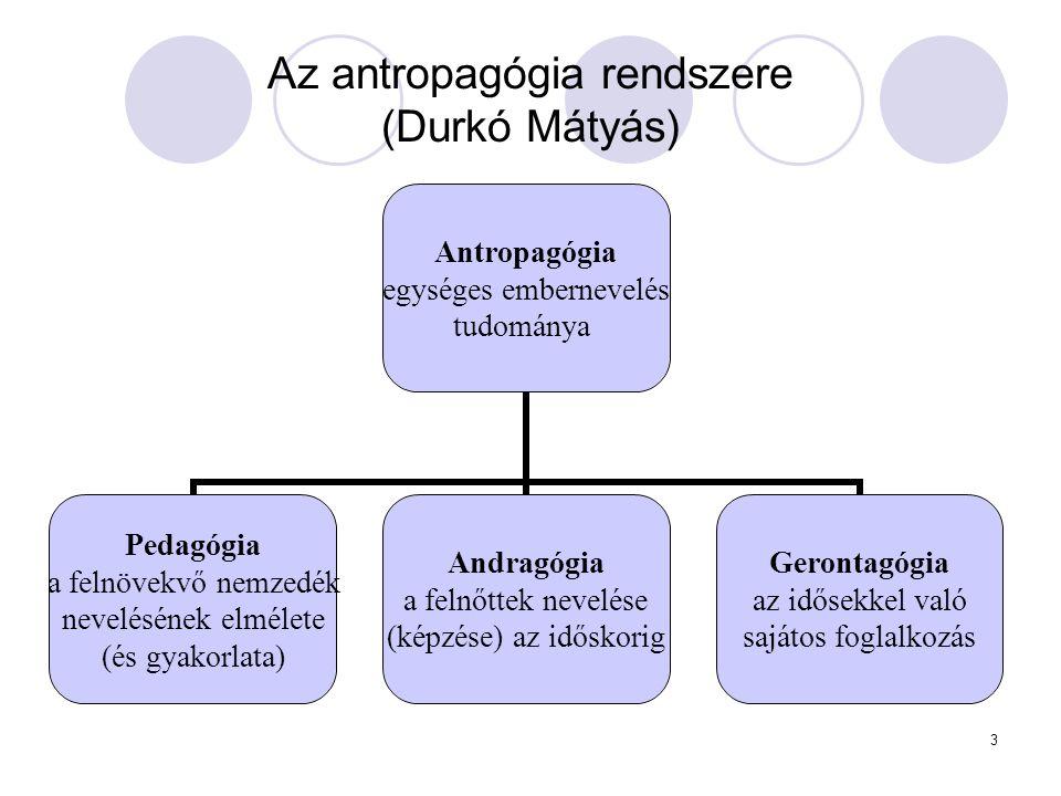 Az antropagógia rendszere (Durkó Mátyás)