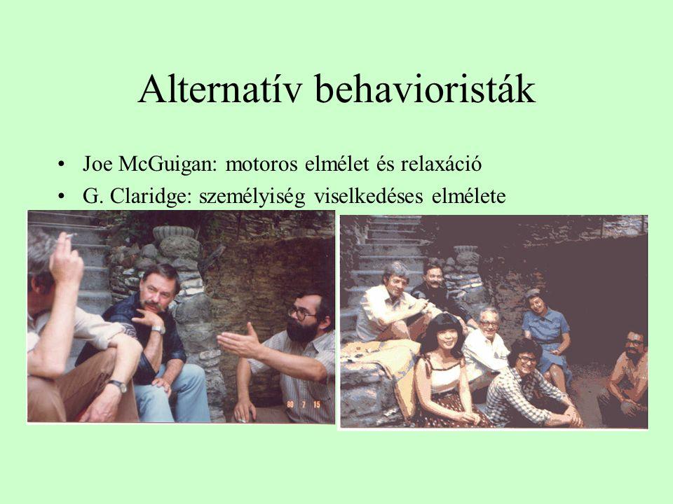 Alternatív behavioristák