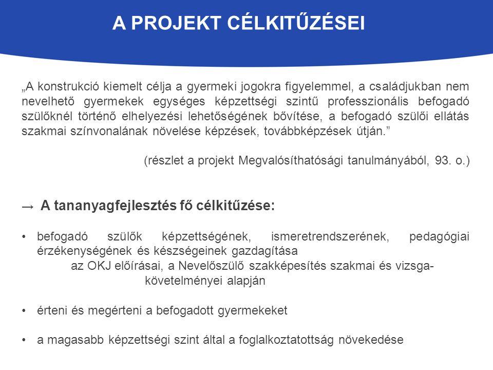 A projekt célkitűzései