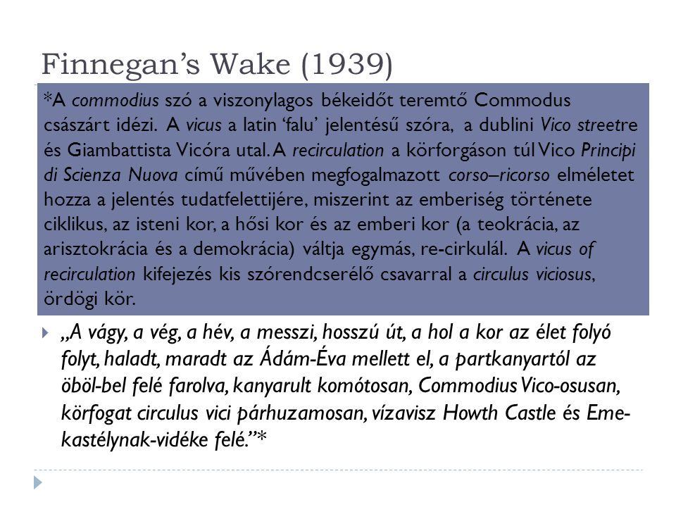 Finnegan's Wake (1939)