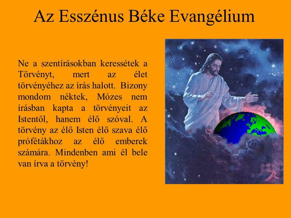 Az Esszénus Béke Evangélium