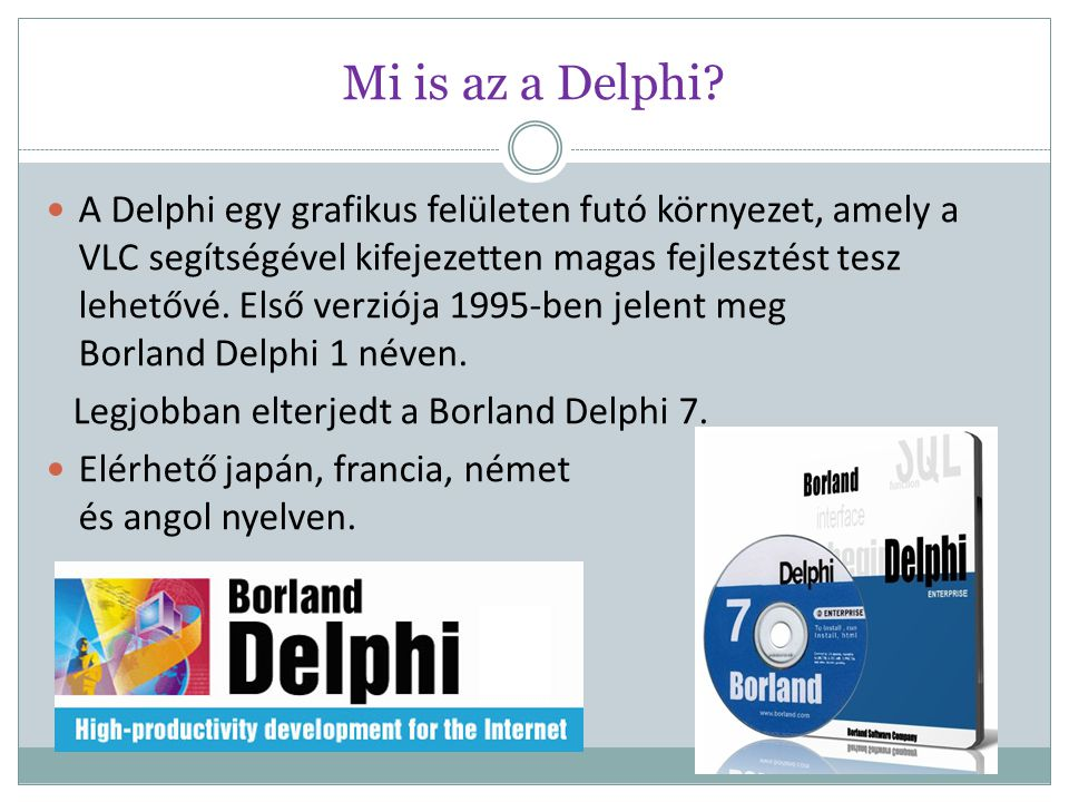 Mi is az a Delphi
