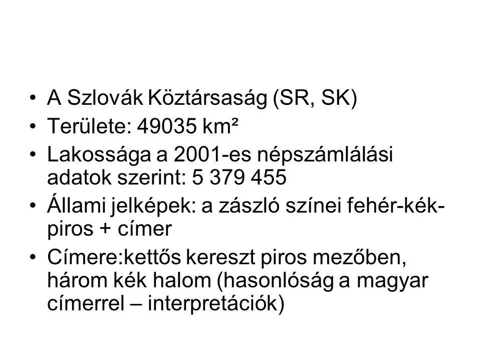 A Szlovák Köztársaság (SR, SK)