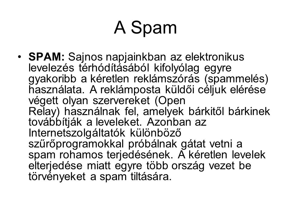 A Spam