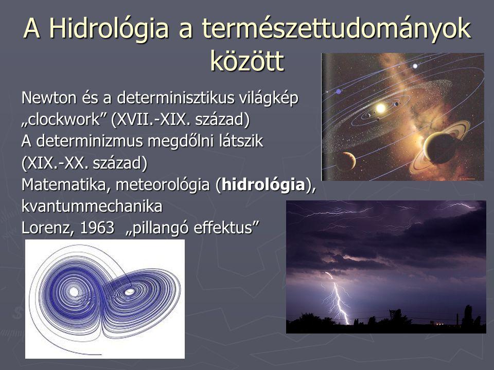 A Hidrológia a természettudományok között