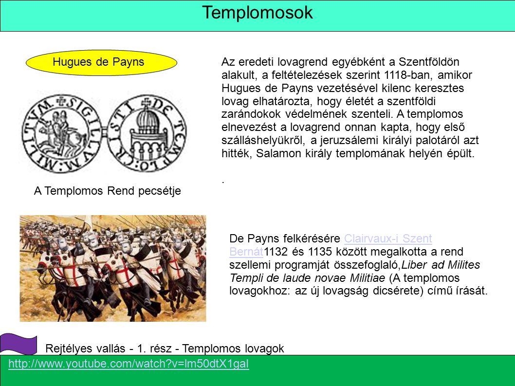 Templomosok Hugues de Payns