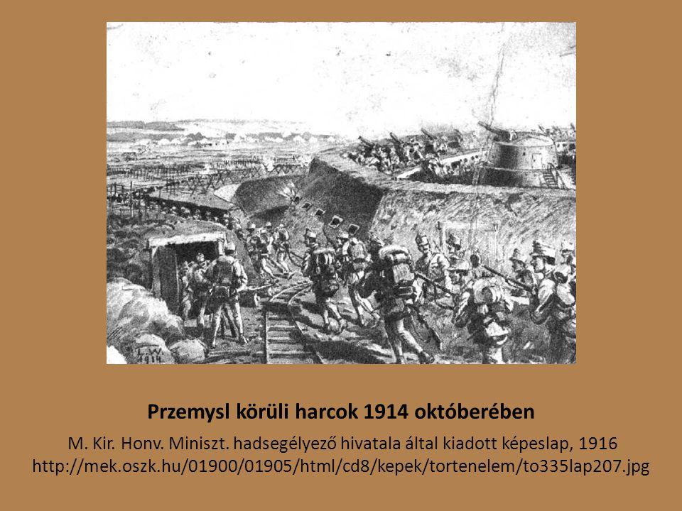 Przemysl körüli harcok 1914 októberében