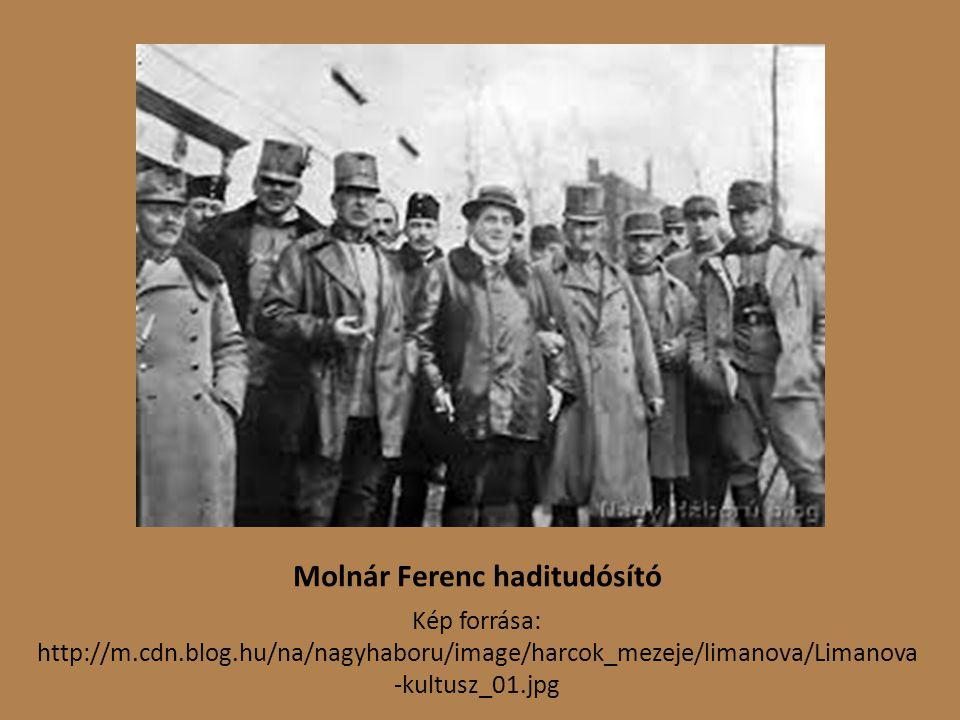 Molnár Ferenc haditudósító