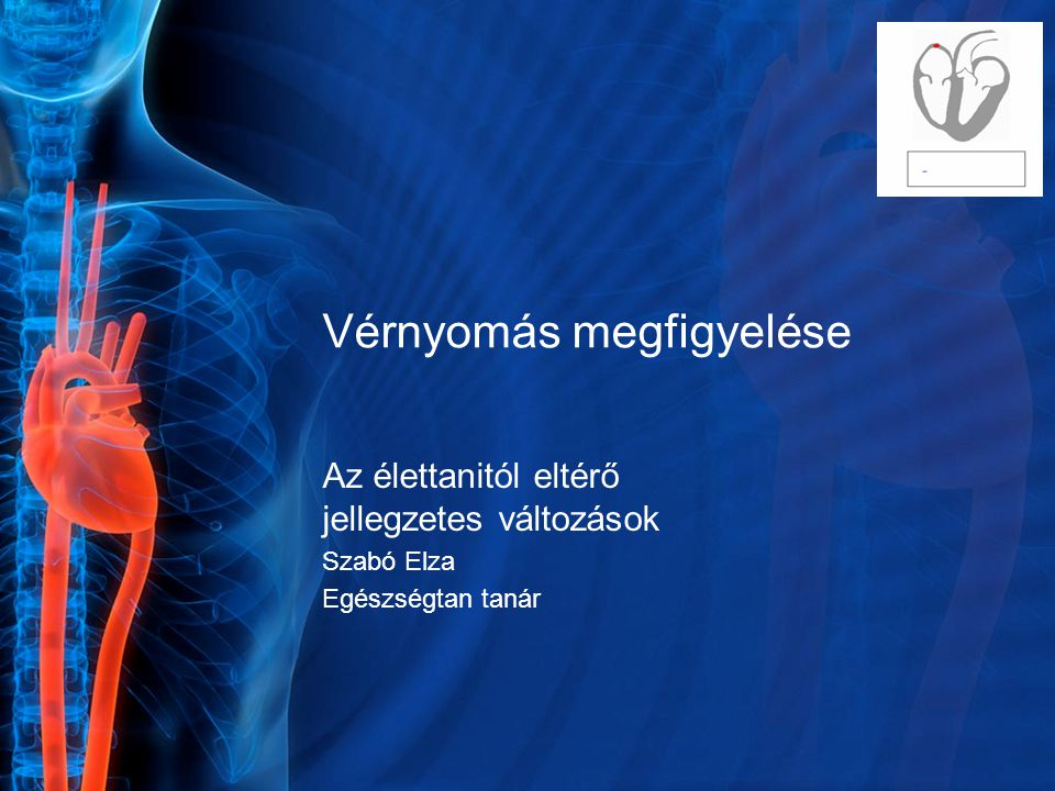 Vérnyomás megfigyelése