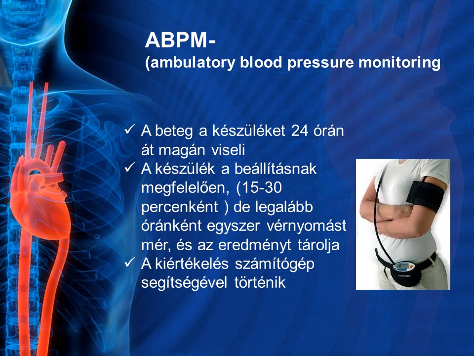 ABPM- (ambulatory blood pressure monitoring