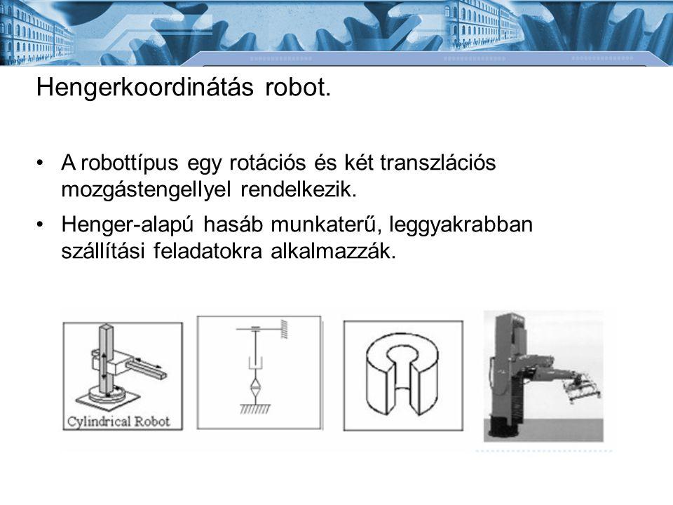 Hengerkoordinátás robot.