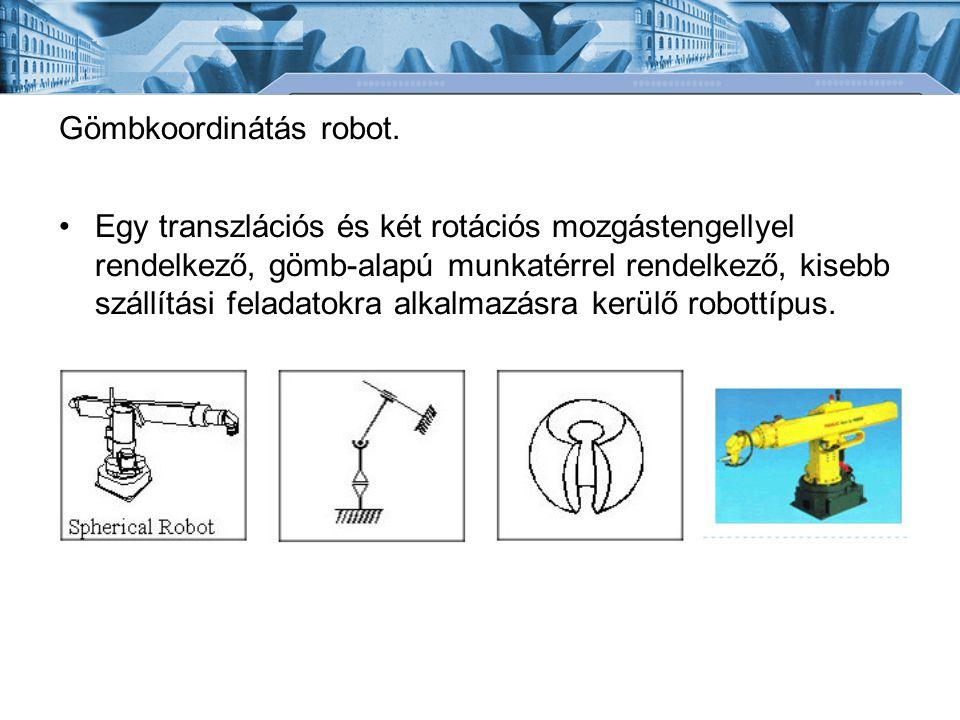 Gömbkoordinátás robot.