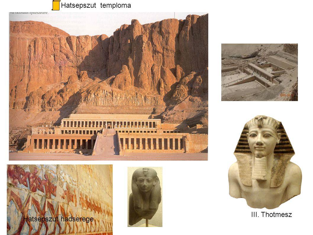 Hatsepszut temploma III. Thotmesz Hatsepszut hadserege