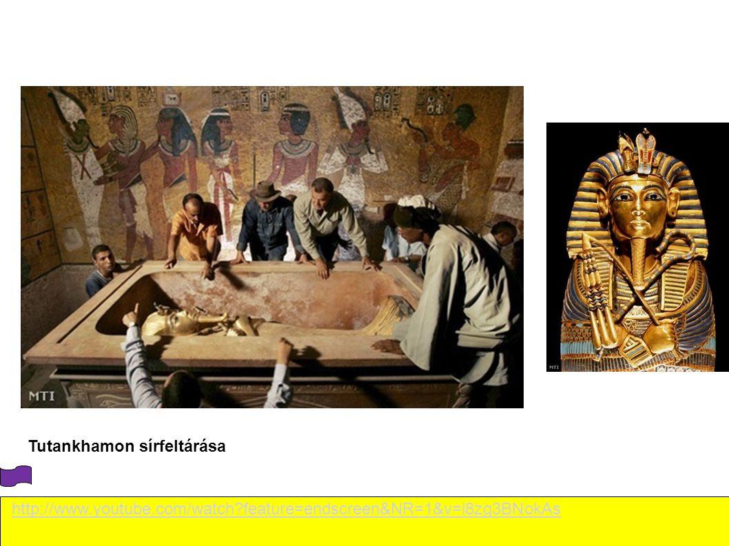 Tutankhamon sírfeltárása