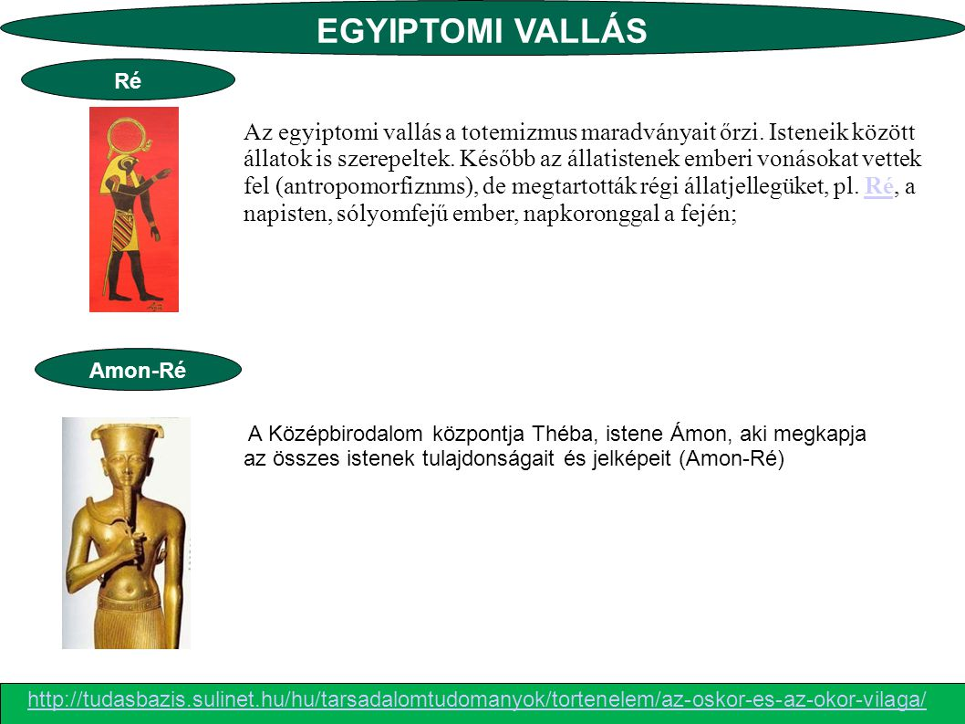 EGYIPTOMI VALLÁS