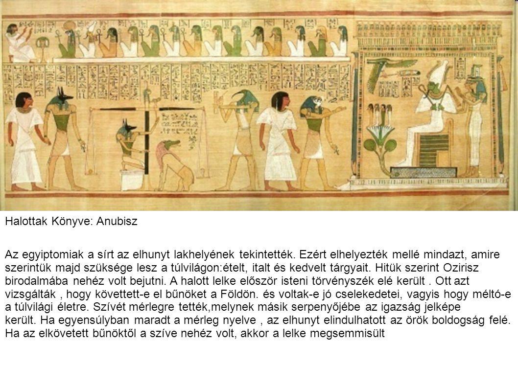 Halottak Könyve: Anubisz