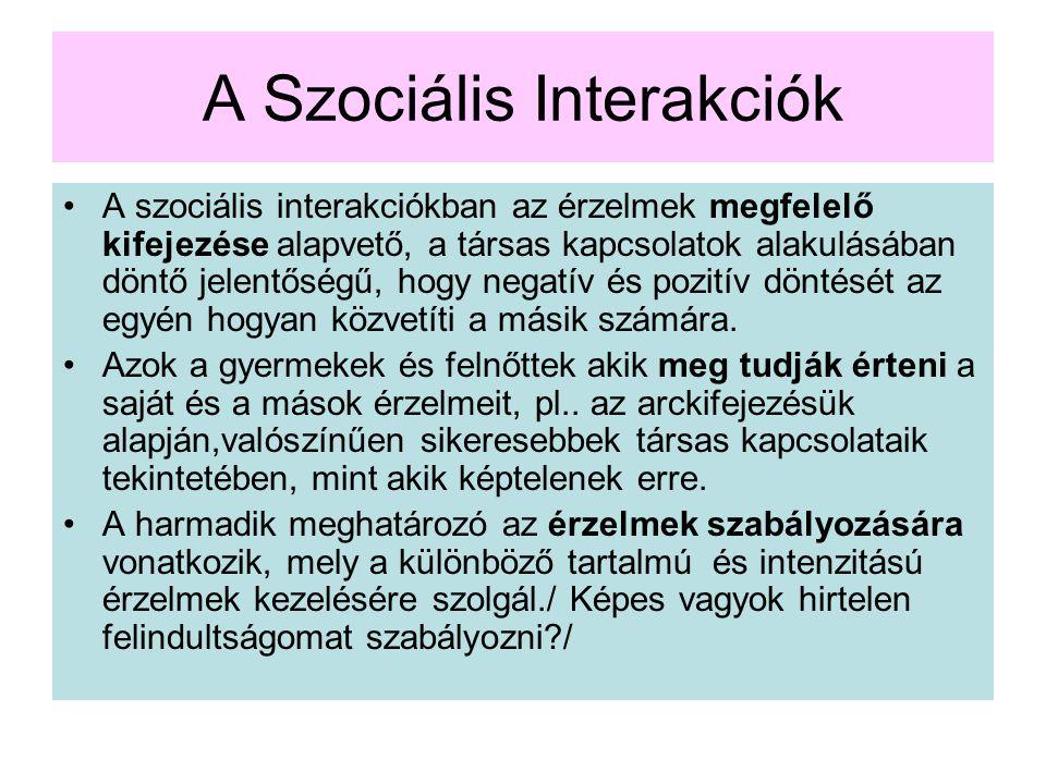 A Szociális Interakciók