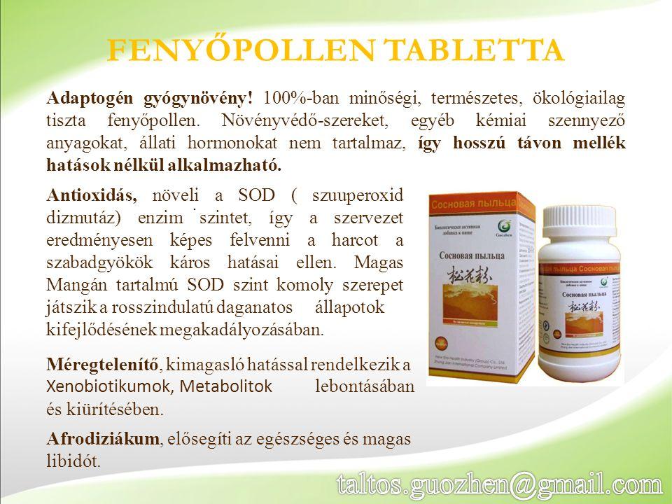 Fenyőpollen tabletta taltos.guozhen@gmail.com