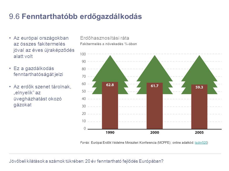 9.6 Fenntarthatóbb erdőgazdálkodás