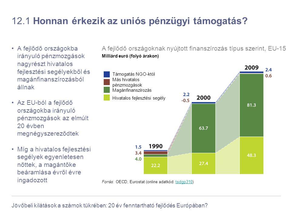 12.1 Honnan érkezik az uniós pénzügyi támogatás