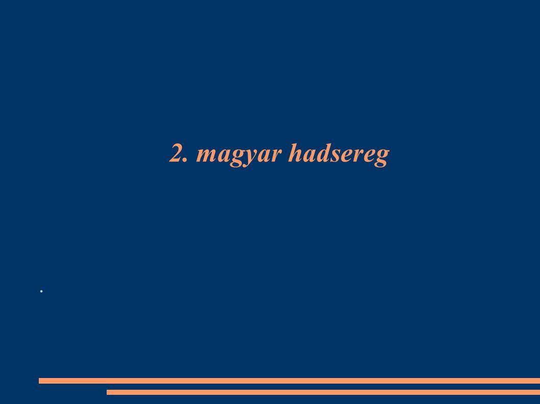 2. magyar hadsereg .
