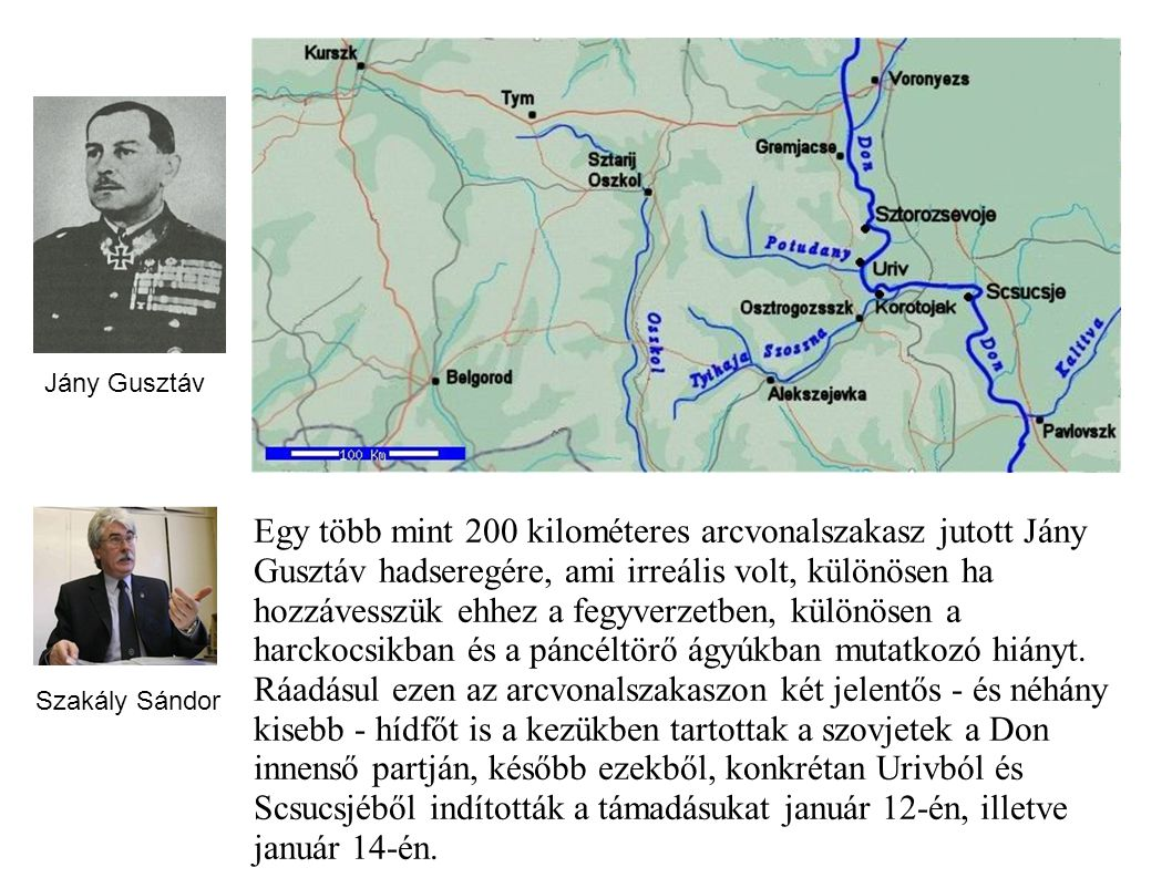 Sinkovics Ferenc: Mennyire volt perdöntő a későbbi katasztrófa szempontjából a magyar 2. hadsereg elhelyezkedése, mélységi tagolás nélküli védelme a Donnál