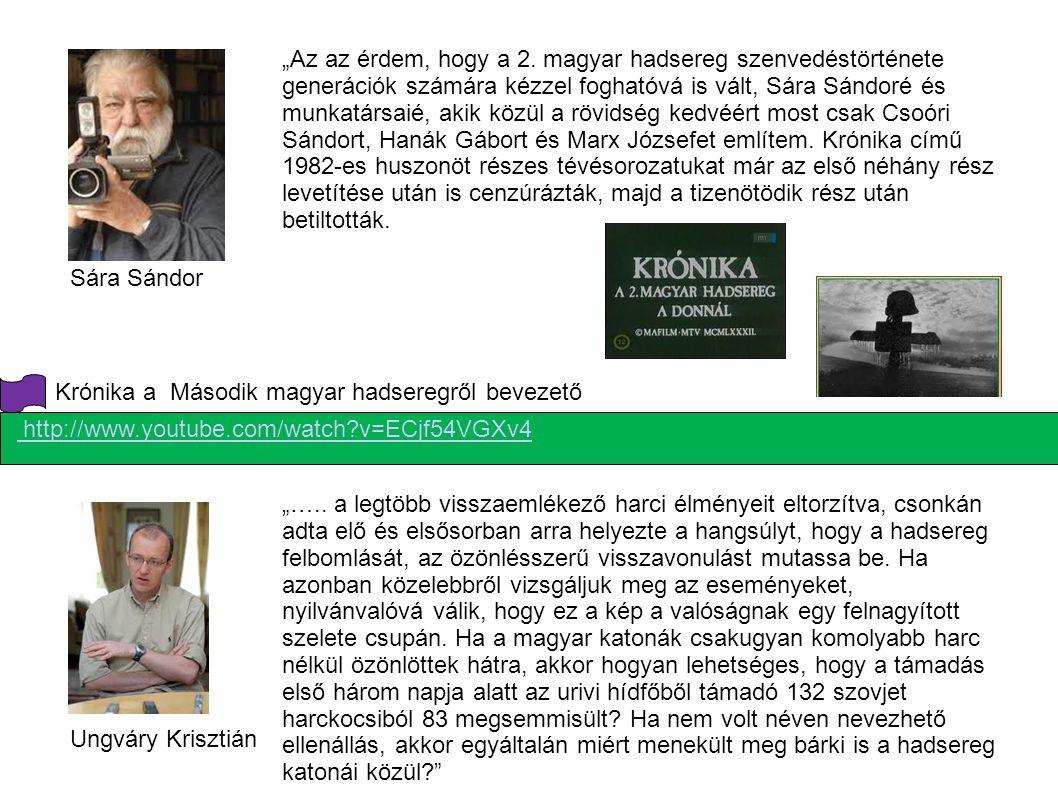 Krónika a Második magyar hadseregről bevezető