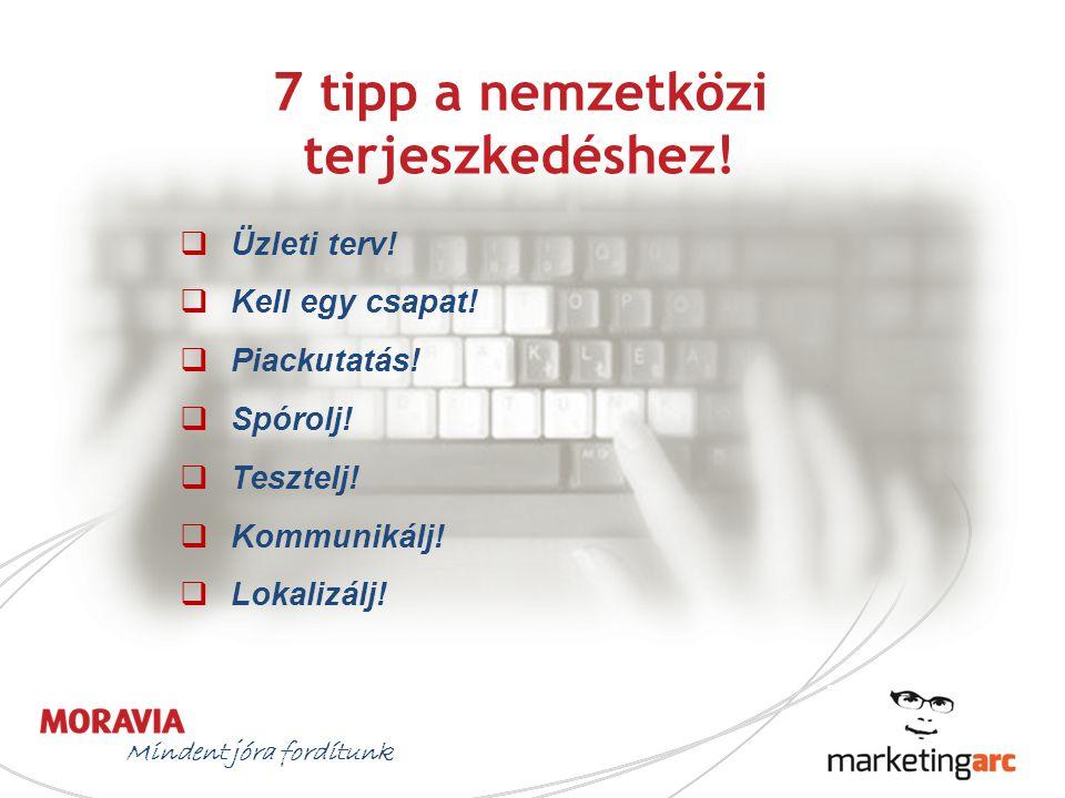 7 tipp a nemzetközi terjeszkedéshez!