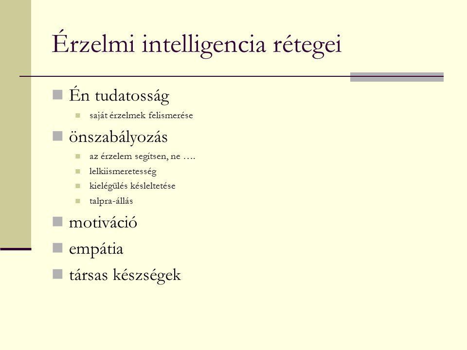 Érzelmi intelligencia rétegei