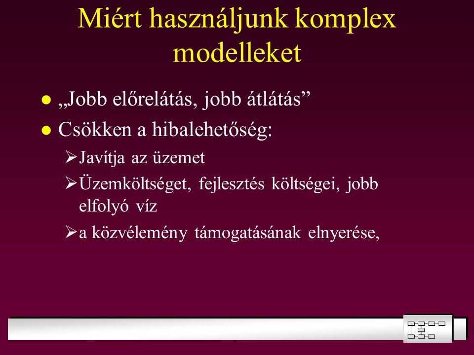 Miért használjunk komplex modelleket