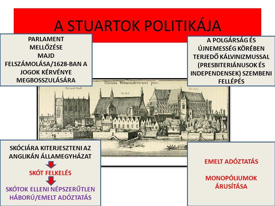 A STUARTOK POLITIKÁJA PARLAMENT