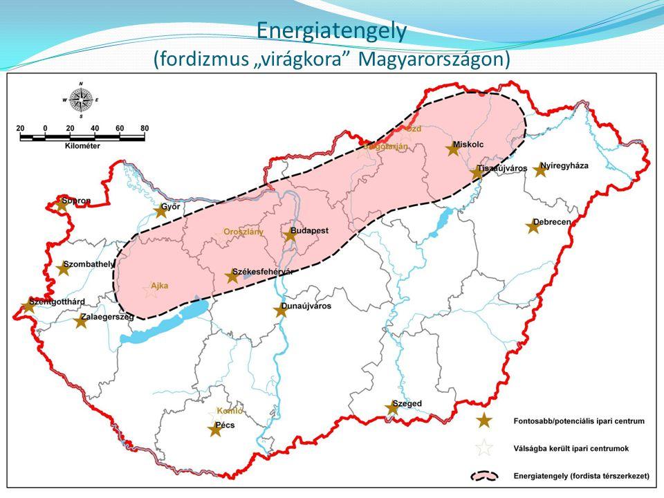 """Energiatengely (fordizmus """"virágkora Magyarországon)"""