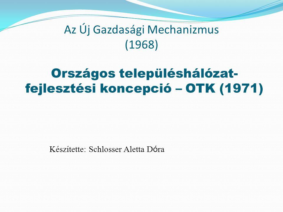 Az Új Gazdasági Mechanizmus (1968)