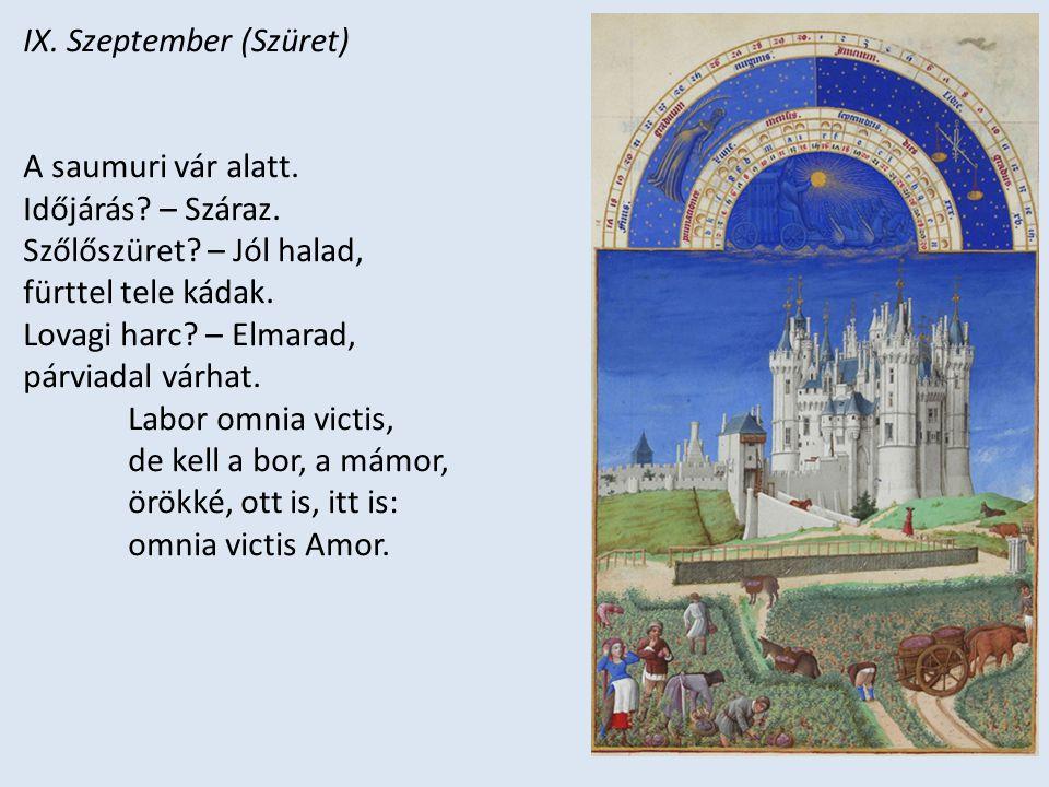IX. Szeptember (Szüret)