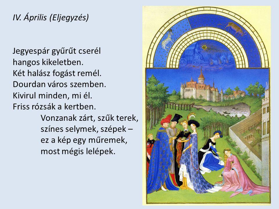 IV. Április (Eljegyzés)