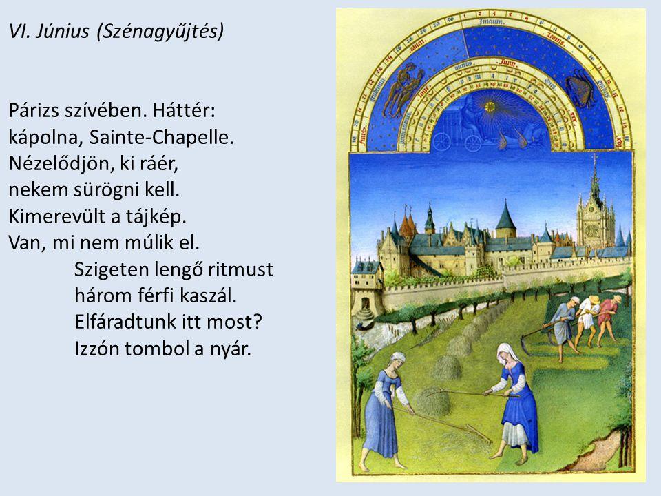 VI. Június (Szénagyűjtés)