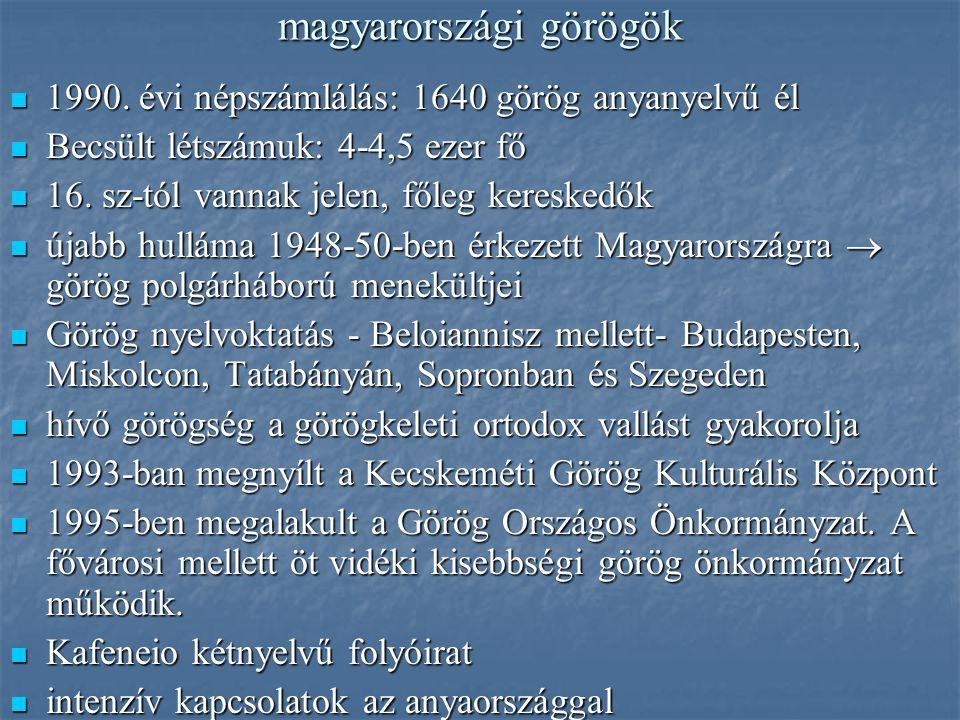 magyarországi görögök