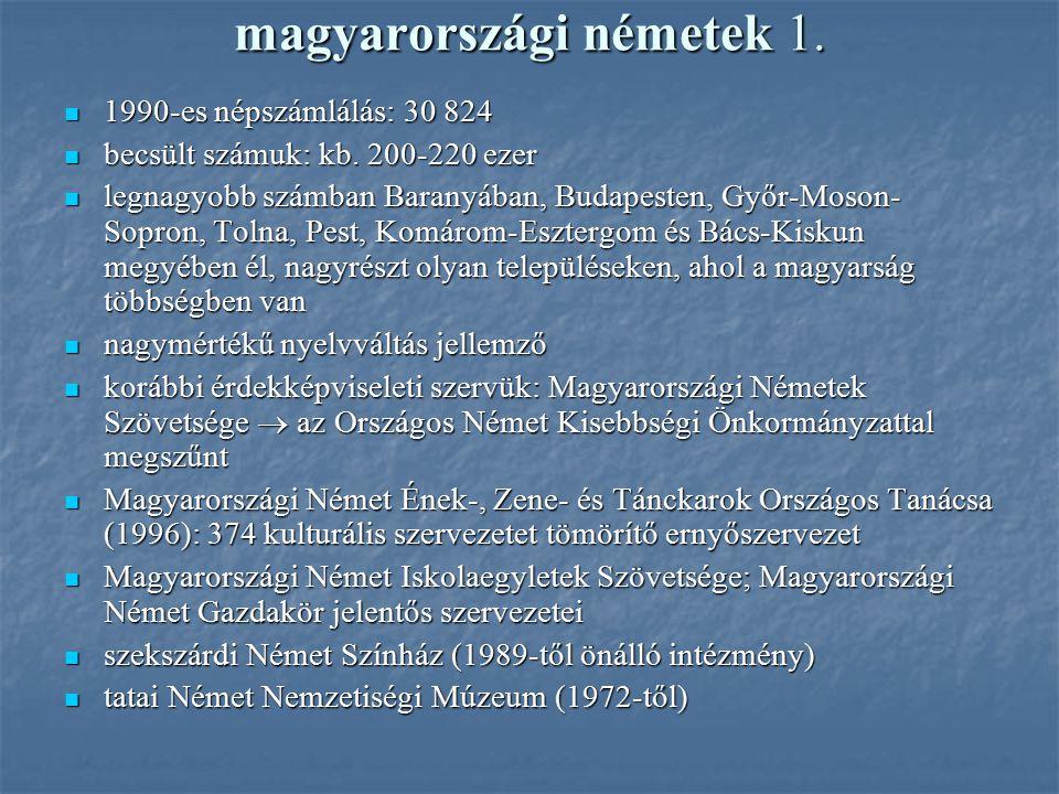 magyarországi németek 1.