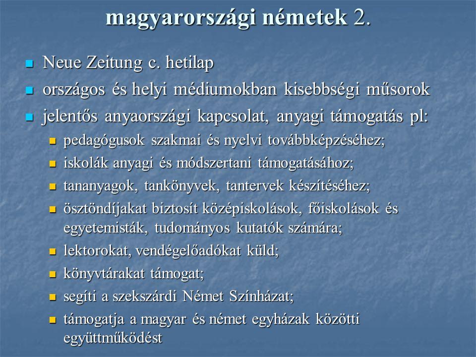 magyarországi németek 2.