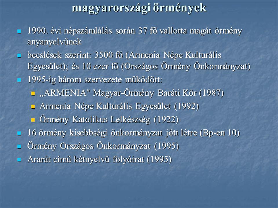 magyarországi örmények