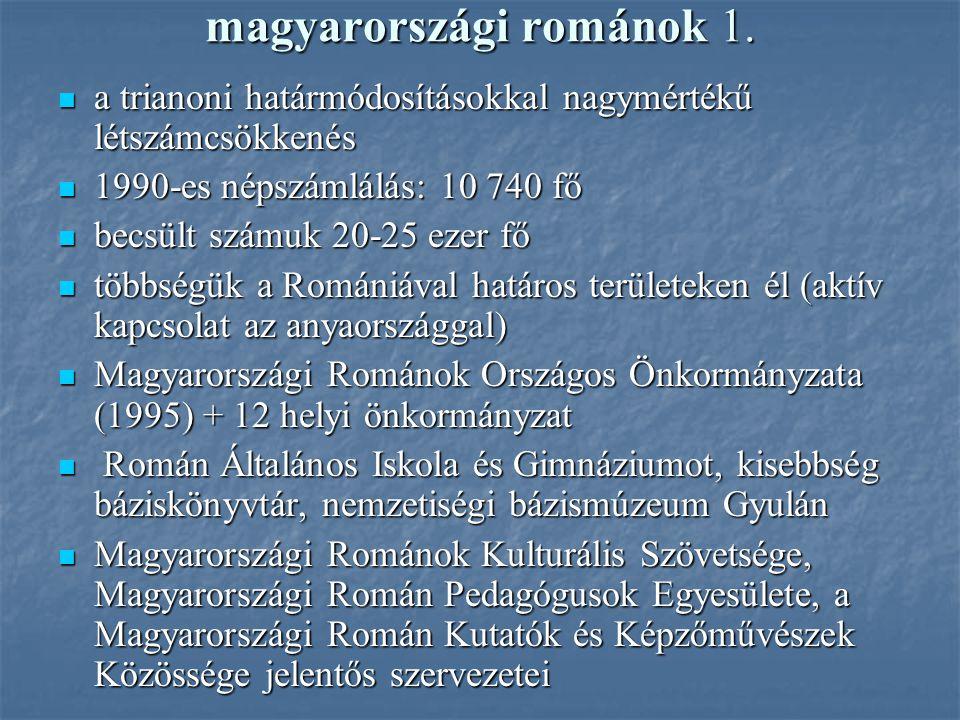 magyarországi románok 1.