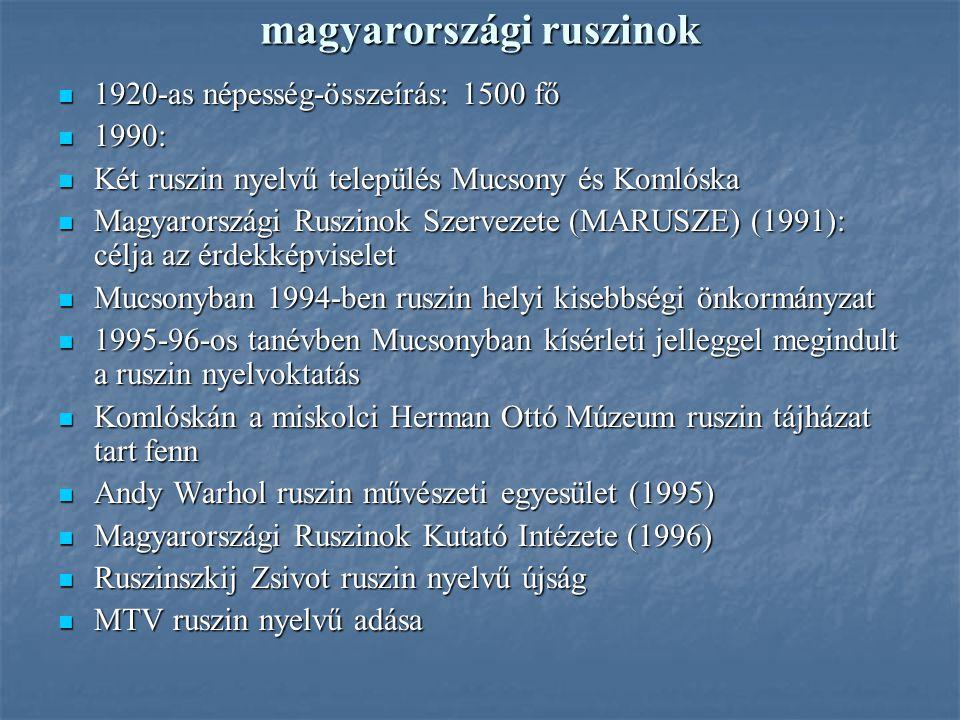 magyarországi ruszinok