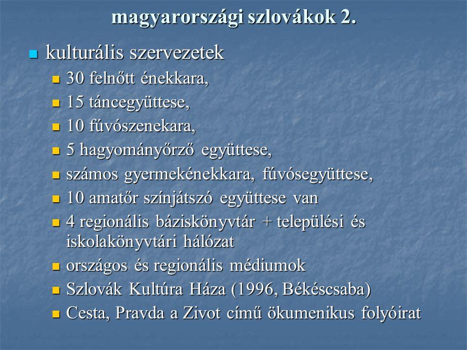 magyarországi szlovákok 2.