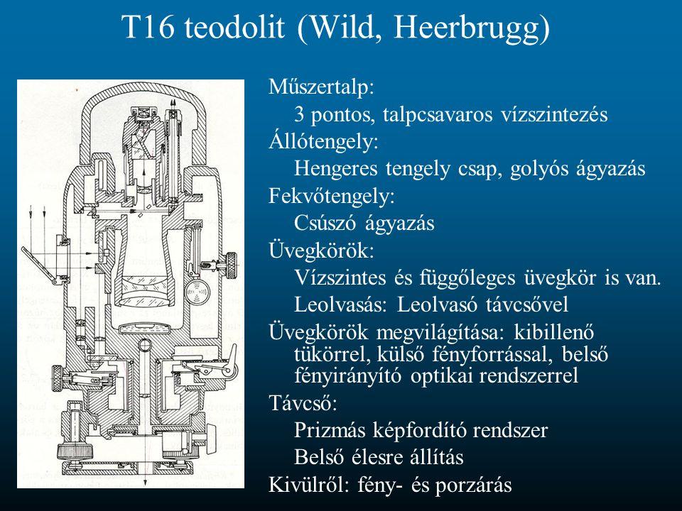 T16 teodolit (Wild, Heerbrugg)