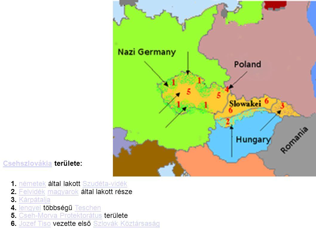 Csehszlovákia területe: