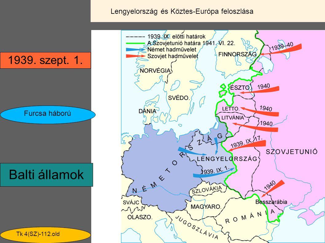Lengyelország és Köztes-Európa feloszlása